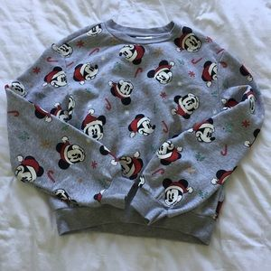 Mickey Mouse Christmas Crew Neck